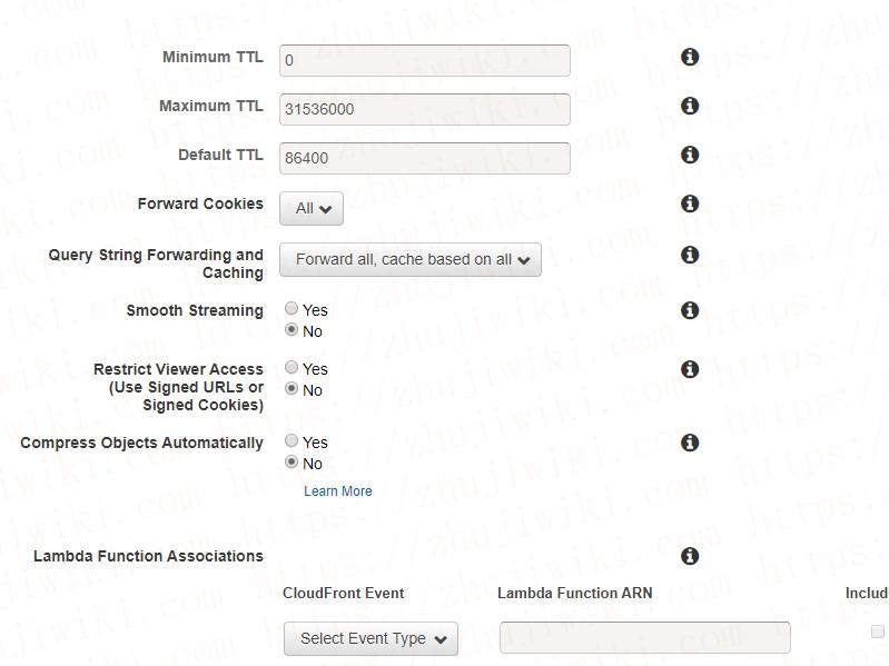 羊毛党之家 AWS CloudFront(AWS CDN)设置、使用教程;为WordPress加速