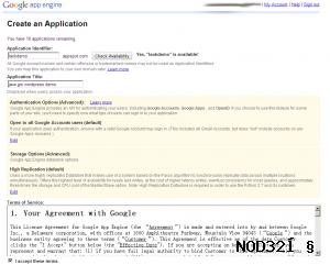 google appengine fill the form 300x241 如何创建gae应用