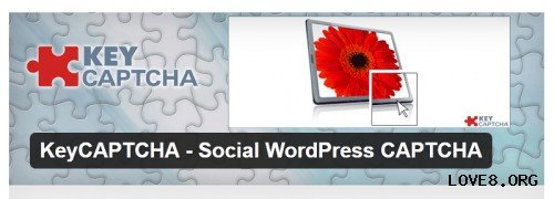 KeyCAPTCHA - Social WordPress CAPTCHA